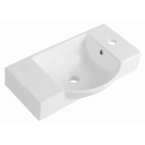 Sapho Formigo beton mosdó, 47,5x13x36,5cm, világos szürke