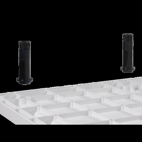 Sanotechnik Lábszett SC8080R, SC9090R SMC zuhanytálcához