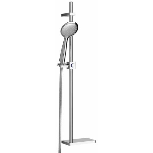 Sapho Brit zuhanyszett, 805mm, réz/króm