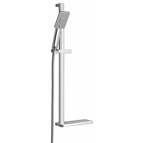 Sapho Kara zuhanyoszlop zuhanyszettel, csaptelep nélkül, 740mm, króm