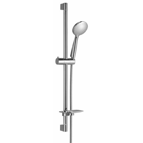 Sapho Wanda zuhanyoszlop zuhanyszettel, csaptelep nélkül, 790mm, króm