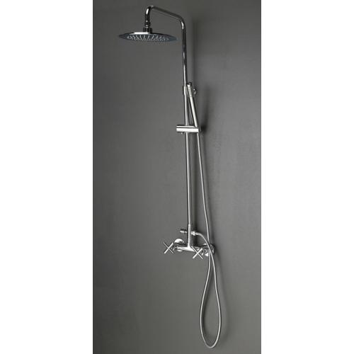 Sapho Reitano Airtech zuhanyoszlop csaptelep nélkül, zuhanyszettel, króm