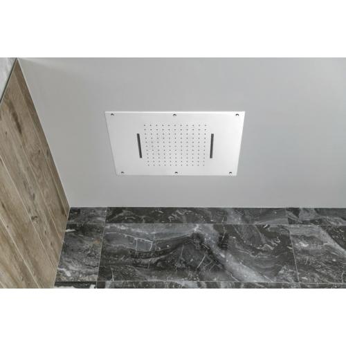 Sapho mennyezeti zuhany, esőztető, 2x kaszkád, 560x400mm, inox