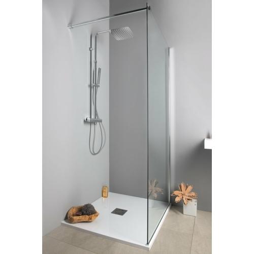 Sapho zuhanyoszlop, termosztátos csapteleppel, zuhanyszettel, króm